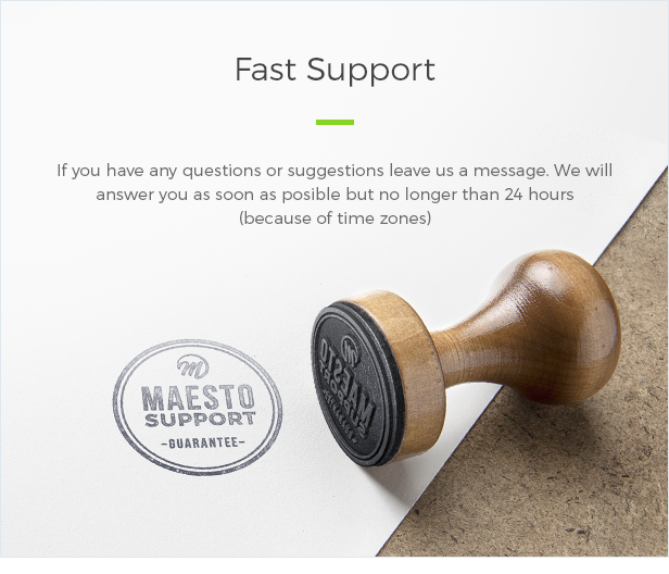 Fast Support